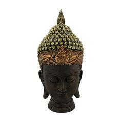 Meditating Buddha Black Large Head Curio Exclusive Buddha Showpiece Made With Resin Beautiful Meditating Buddha Figurine Ideal Gift For House Warming Buddha Meditation, House Warming, Resin, Statue, Gift, Beautiful, Black, Black People, Gifts