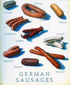 Cooks Illustrated - German Sausages