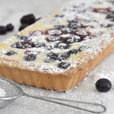 Cooking with Manuela: Made-from-Scratch Ricotta and Berry Tart