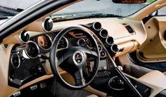 car interiors/ Toyota Supra Mk. 4 Custom