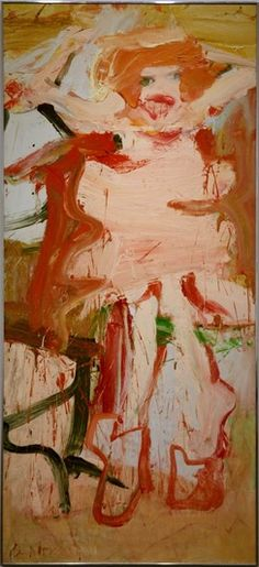 De Kooning......have been studying his work.  Fascinating......