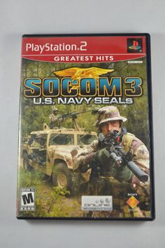 socom u s navy seals coverart png playstation 2 games pinterest rh pinterest com Socom 2 PS2 Socom 2 US Navy SEALs