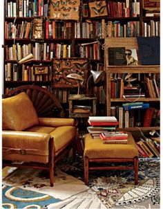 Anthropologie Wall of Books