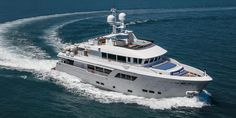 Cantiere delle Marche Darwin 102 yacht Galego delivered #LuxuryYachting