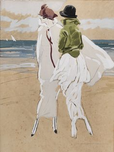 Marcello Dudovich     Al mare, 1920    Mart, Deposito Tomatis/Vegro www.mart.tn.it/andataericordo