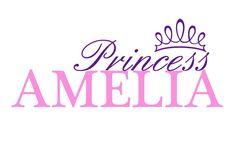 Personalized Princess custom Name vinyl decal wall art decor removable bedroom decal Baby Girl Nicknames, New Baby Girl Names, Baby Names, Baby Girls, Name Wall Art, Vinyl Wall Decals, Wall Sticker, Wall Art Decor, Nursery Name