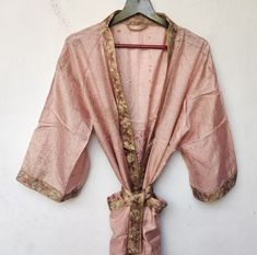 Silk Robe Long, Silk Kimono Robe, Kimono Dress, Floral Kimono, Long Sleeve Kimono, Long Kimono, Festival Dress, Festival Clothing, Long Gown Dress