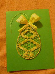 velikonoční vajíčka podvinky od Galuszkových Lace