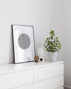 'Find Your Luck' print in on our bedroom counter #cocolapine