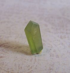 Peridot     crystal  gem mineral  wire wrap stone by CoyoteRainbow, $5.00