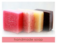 14 homemade soap recipes- favors for after the party