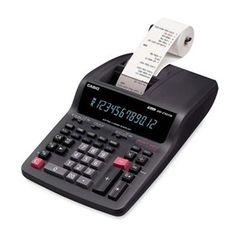 Casio Compact Desktop Printing Calculator