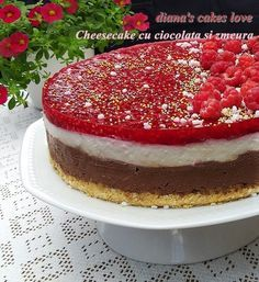 Romanian Food, Cheesecake Recipes, Halloween Treats, Cheesecakes, No Bake Cake, Baking Recipes, Biscuits, Deserts, Good Food