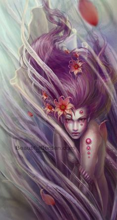 images of jennifer healey art | Ethereal and Delicate Digital Paintings by Jennifer Healy