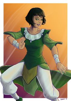 The Legend of Korra - Opal by bchart.deviantart.com on @deviantART