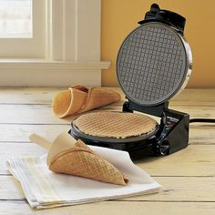 Waffle-Cone Maker and Other Fabulous Ice Cream Tools