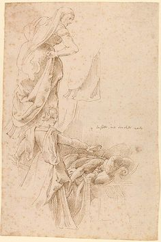 Peter Paul Rubens | Job's Wife; Judith and Holofernes | Drawings Online | The Morgan Library & Museum