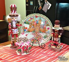 Show Me Decorating creates a cookie exchange buffet featuring a Mary Engelbreit plate Mary Christmas, Christmas Time Is Here, Christmas Gingerbread, Xmas, Christmas Holidays, Christmas Ideas, Halloween Decorations, Christmas Decorations, Mary Engelbreit
