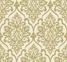 contemporary wallpaper | ... Wallpaper: Treviso Damask Wallpaper 13035 Designer Wallcoverings