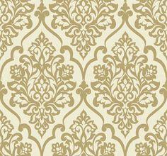 contemporary wallpaper   ... Wallpaper: Treviso Damask Wallpaper 13035 Designer Wallcoverings