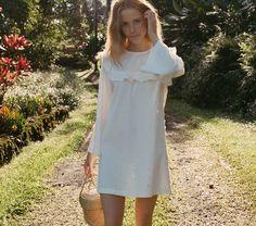BRONTE DRESS -- SALT