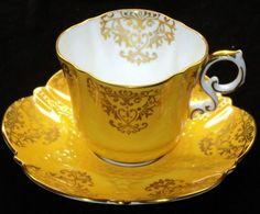 Bettina Aynsley Feely Elegant simplyTclub Tea cup and saucer