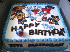 Doraemon Birthday Cake Images