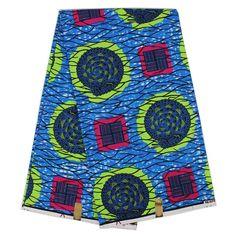 Good Quality African Dutch fabric/Veritable super wax Hollandais prints African Cotton wax fabric 6yards YBG0718-01