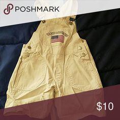 Boys overalls Boys khaki overalls U.S. Polo Assn. Bottoms Overalls