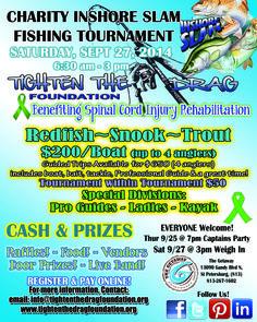 Inshore Slam Charity Fishing Tournament 9/27!
