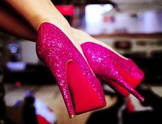Hot Pink, and Sparkly!!! what could go wrong?