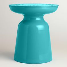 Eclectic punched embellishments elevate the global appeal of our drum stool. www.worldmarket.com #WorldMarket Outdoor Entertaining