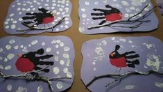 Diy And Crafts, Crafts For Kids, Winter Holidays, Projects To Try, Creative, Cards, Painting, Experiment, Winter