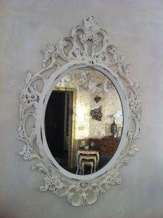 Eskitme ayna cercevesi Entry Mirror, Diy Mirror, Paint Furniture, Furniture Design, Shabby Chic Decor, Picture Frames, Decoupage, Bridesmaid, Crafts