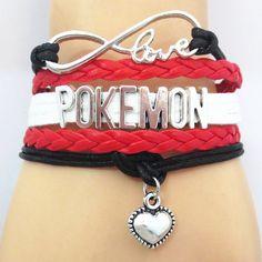 Pokemon Love Bracelet //Price: $ 9.95 & FREE shipping //
