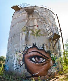 Street art by Eoin. Location undisclosed Australia