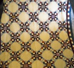 Tennessee Waltz Quilt. Love it! Maybe this one for the guest bedroom.