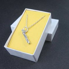 Flute necklace sterling silver band student gift instrument jewelry | Thesingingbeader - Jewelry on ArtFire