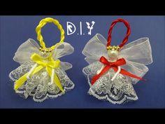 ❆☃❆ D.I.Y. Christmas Ornament Angel - Tutorial ❆☃❆