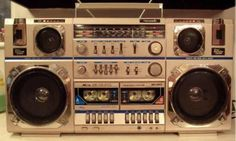 Boombox (Dual cassette for making those mix tapes for that someone special):