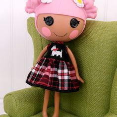 Lalaloopsy Clothes Girl Penguin Dress by little noel's doll house. $9.99, via Etsy.