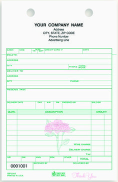 Part Estimate And Repair Order Carbonless  Business Forms