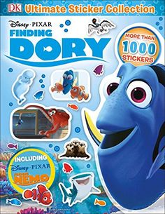Ultimate Sticker Collection: Disney Pixar Finding Dory (DK Ultimate Sticker Collections)