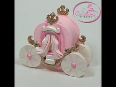 CREATIONS BY EDITH , COLD PORCELAIN, Porcelana Fria, Cake Supplies, Baby Shower, Bridal FAVORS, Cake Tops, Metal Cutters, Rolling Pins, Bouquets,Corsages and more! : Princess carriage cutter, Lg [cinde-carr-lg] - $10.99