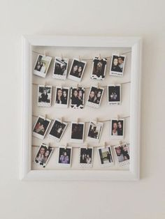 16 Wohnheim Wanddekoration www. Decoration Photo, Polaroid Decoration, Decoration Pictures, Dorm Walls, Dorm Rooms, Tumblr Rooms, Diy Room Decor Tumblr, Diy Casa, Retro Home Decor