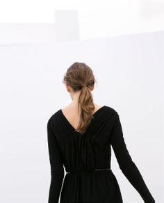Image 3 of V-NECK KNIT DRESS from Zara