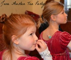 As part of our Jane Austen learning, the girls decided to hold a Georgian tea party, Jane Austen style. I am so blessed by older girls who want to make the little ones' childhood as magical …