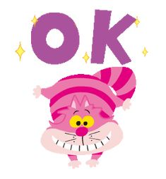 LINE Official Stickers - Easygoing Alice in Wonderland Example with GIF Animation Happy Baby, Happy Girls, Ok Gif, Small Snakes, Gifs, Glitter Graphics, Line Sticker, Cute Gif, Christian Art