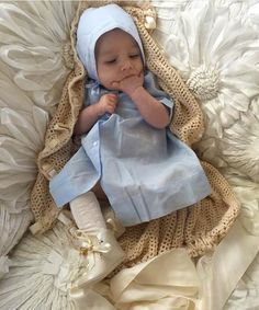 There's nothing like waking up to a sweet little prince in his Feltman Brothers gown and bonnet!  #royalbaby #princecharming #heirloom #classic #handembroidered #onlythebest #feltmanbrothers http://feltmanbrothers.com