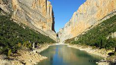Detalles de la caminata al Congost de Mont-rebei, uno de los parajes naturales más impresionantes de España.